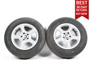 00-06 Bmw E53 X5 Front Right And Left 5-spoke Wheel Tire Rim 7.5jx17 Seh2 Is 40
