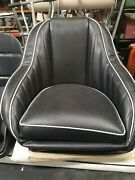 Jet And V-drive Boat Snap In Covers Two Colors Combo For Jbp Glass Bucket Seats