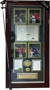 Tiger Woods 1997 Masters Champion Shadowbox With Attached Driver Club