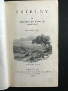 Shirley By Charlotte Bronte Currer Bell-1878-early Ed Antique Hardcover Book