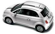 2014 Euro Style Hood Roof Rally Racing Stripes Graphics 3m Vinyl For Fiat 500