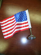 Radiator Cap With Us Flag Rolls Royce 20/25 To 1933 25/30