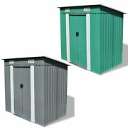 Vidaxl Garden Storage Shed Steel Outdoor Shed House Building Multi Colors