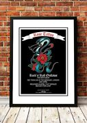 Rose Tattoo | Australian Rock Band Concert Tour Posters | 9 To Choose From.
