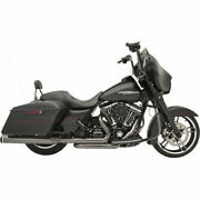 Khrome Werks 22 Eclipse Exhaust System 2-step Crossover 2009-16 Harley Touring
