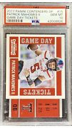 2017 Contenders Draft Picks Patrick Mahomes Game Day Tickets Gem 💎 Mint Psa 10