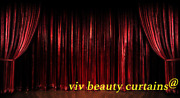 Theater/stage Red Vintage Classic Velvet Curtain Drape 12ft H Sound Proof