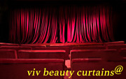 Theater/stage Red-b Vintage Classic Velvet Curtain Drape 9-15ft H Sound Proof