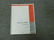 Case Ih Sdx30 No-till Air Drill Set Up Instructions Service Manual Con 6-98901