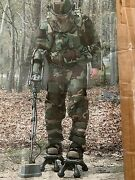 Eod Mine Counter Mine Outfit Large Helmet Shield Torso Coverage