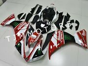 For Yzf R1 2009-2011 Abs Injection Mold Bodywork Fairing Kit Red Black Milwaukee