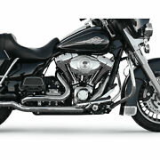Bassani Chrome True Dual Down Under Head Pipes 2009-16 Harley Touring