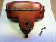 1950's Johnson Fd-10 15hp Outboard Motor Used Air Silencer Box Ships W/tracking