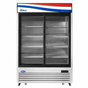Atosa Usa Mcf8709gr 54 Two Section Merchandiser Refrigerator With Glass Door 4