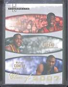 2007-08 Fleer Hot Prospects Class Of 2007 2007-a Kevin Durant Oden And Conley