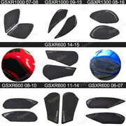 Motorcycle Parts Traction Anti Slip Tank Side Pad Side Gas Knee For Suzuki