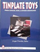 Antique Tinplate Toys Value Guide Collector's Book
