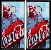 Coca Cola 0273 Cornhole Board Vinyl Wraps Stickers Posters Decals Skins Gift