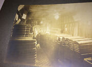 Antique Occupational Textile Workers, In Shop Pet Dog Animal Cabinet Photo Us
