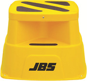 10 X Jbs Safety Step With Stopper 500x500x360mm 200kg Capacity Yellow