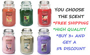 ☆yankee Candle☆you Pick The Scent☆22 Oz Large Jar ☆free Fast Priority Shipping