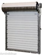 Durosteel Janus 8and039wx10and039h Heavy Duty 3652 Series Fl Wind Rated Rollup Door Direct