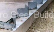 Duro Steel Arch Building 80and039 Metal Hand Welded Industrial Base Connector Plate