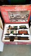Greatland Express Train Set G Scale Battery Operated New Bright Toys Christmas.