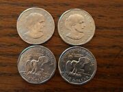 1999 P And D Susan B Anthony Dollar Un Circulated 2 Coin Lot Fresh From Mint Bags