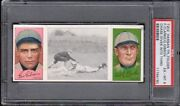 1912 T202 Hassan Chase Dives Into Third - Clarke And Gibson Psa 6 11794180