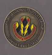 653rd Regional Support Group Army Challenge Coins 2 Dia