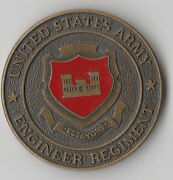 United States Army Engineer Regiment Essayons Challenge Coin 1.5 Dia