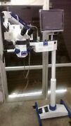 Five Step Surgical Microscope Lcd Camera Motorized