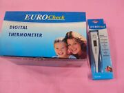 Digital Clinical Thermometer Automatic Last Reading Memory Pack Of 2 Pcs