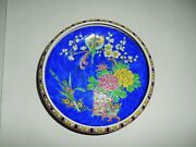 Japanese, Nippon Hand-painted Bowl Ceramic Footed Pottery Japanese Dish Plate