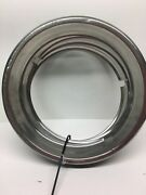 Vintage Auto Car Wheel Trim Ring Chrome Finish Cover Outer Hub Cap 15andrdquo