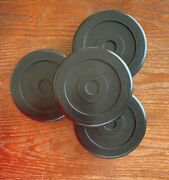 Round Rubber Arm Pads For Bendpak Lift/ Dannmar Lift - New Set Of 4