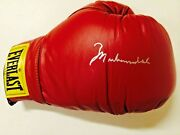 Mint Muhammad Ali Authentic Autographed Single Signed Boxing Glove Pair With Coa