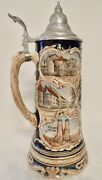 Marzi And Remi 5083 1l Full Color Stein Munith Souvenir With Music Box Base Lm111