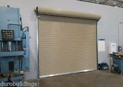 Duro Steel Janus 12and039 Wide By 14and039 Tall 1950 Series Insulated Roll-up Doors Direct