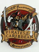 Disney Dca Pirates Of The Caribbean 40th Anniversary Le 1000 Sold Out Pin