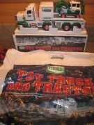 2013 Hess Toy Truck And Tractor Mint In Box With Collector Bag