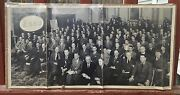 Vintage 1950's Esso Gas Service Station Corporate Group Photo Fay Photo Boston