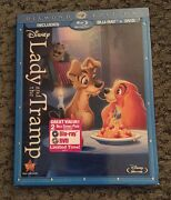 Lady And The Tramp Diamond Edition Blu-ray/dvd W/slipcover Sealed