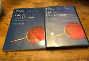 Great Courses Set - Life In Our Universe Course Dvds + Guidebook Home School