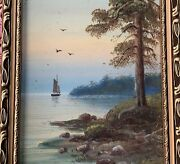 Russian Antique Painting - Yuliy Yulevich Julius Klever 1850andndash1924