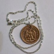 Rare 1893 Mexico Un Centavo One Cent Old Antique Large Coin Pendant Jewelry