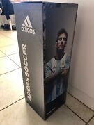 Adidas Soccer Store Display Sign. Lionel Messi, James Rodriguez, World Cup Sign