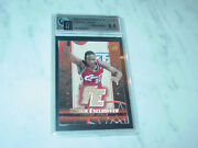 2003-04 Lebron James Ud Rookie Exclusives 1st Graded Gold Jersey Gai 9.5 1/1