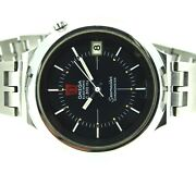 Omega Chronometer Electronic Stainless Steel Mens Watch Seamaster F300hz Vintage